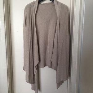 Sweaters - light hood cardigan